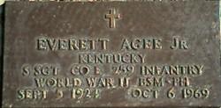Everett Agee, Jr