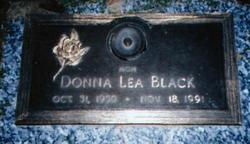 Donna Lea <i>Clark</i> Black