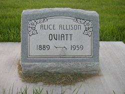 Isabelle Alice <i>Edgington Allison</i> Oviatt