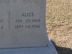 Alice E <i>McClanahan</i> Barton