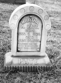 Martha Ann <i>Varner</i> Pate