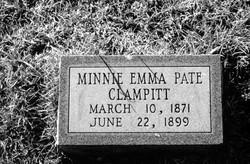 Minnie Emma <i>Pate</i> Clampitt