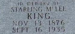 Starling McLee King