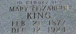 Mary Elizabeth <i>Crawford</i> King