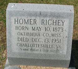 Homer Gilmer Richey