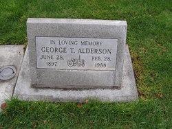 George T Alderson