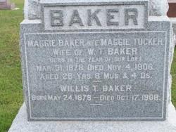 Maggie <i>Tucker</i> Baker