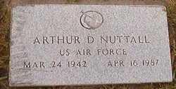 Arthur D Nuttall