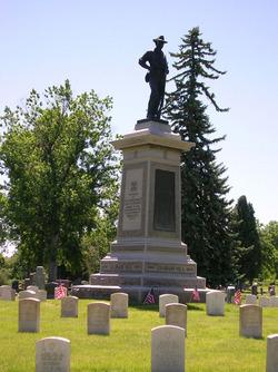 1st Rgt. Colorado Infantry U.S. Volunteers Memorial