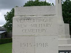 Vlamertinghe New Military Cemetery