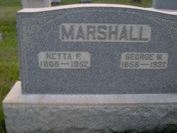 Frances Emeretta Retta <i>Smith</i> Marshall