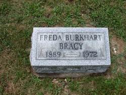 Freda M <i>Burkhart</i> Bracy