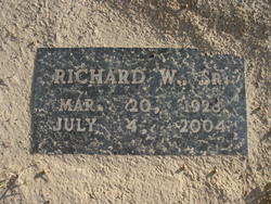 Richard W. Jernigan, Sr