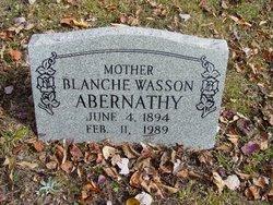 Blanche Wasson Abernathy