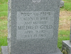 Mildred <i>Tener</i> Gold