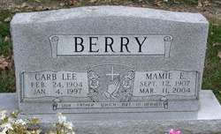 Mamie Easter <i>Braddy</i> Berry