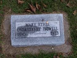 Mary Ethel <i>Overstreet</i> Howell