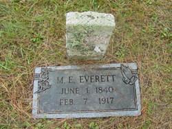 Martha Ellen <i>Barger</i> Everett