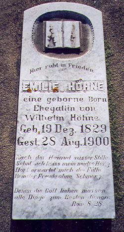 Emilie <i>Born</i> Hohne