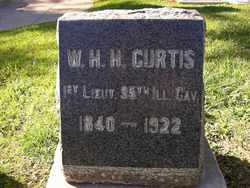 Lieut William H H Curtis
