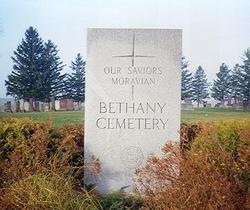 Bethany Moravian Cemetery