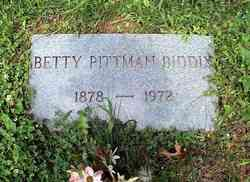 Betty <i>Pittman</i> Biddix