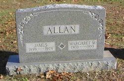 Margaret M Allan