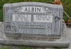 Phyllis G Albin