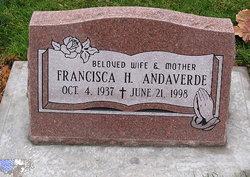 Francisca H Andaverde