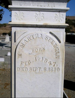 Martha <i>Reed</i> Speegle
