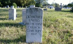 Old Bethel United Methodist Church Cemetery