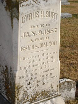 Cyrus H Burt