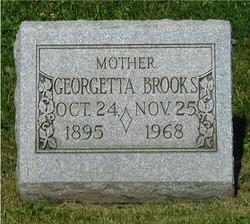 Georgetta <i>Allison</i> Brooks