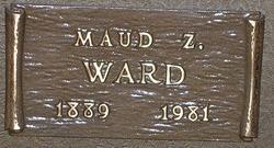 Louie Maud Maud <i>Zeek</i> Ward
