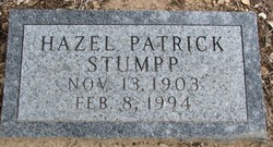 Hazel Marie <i>Patrick</i> Stumpp
