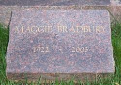 Marguerite Susan Maggie <i>McClure</i> Bradbury