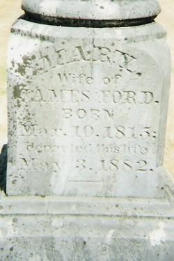 Mary M. Polly <i>Cline</i> Ford