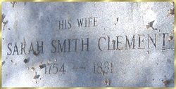 Sarah <i>Smith</i> Clement