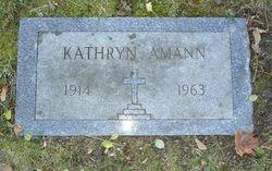 Kathryn Amann