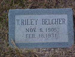 T. Riley Belcher