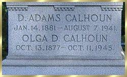 D Adams Calhoun
