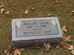 Adaline <i>Gann</i> Adair