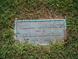 William I Applegate