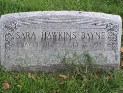 Sarah <i>Hawkins</i> Bayne