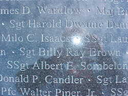 Sgt Billy Ray Brown