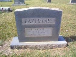 Mary Edna <i>Witt</i> Bazemore