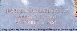 Joseph Simmons Alexander, Jr