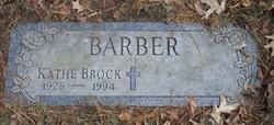 Katheleen Mae <i>Brock</i> Barber