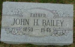 John H Bailey