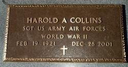 Harold A Collins